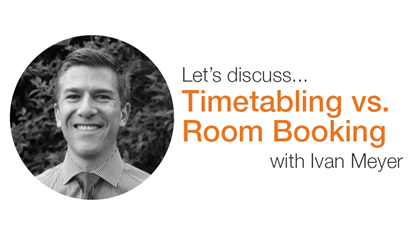 Timetabling vs. Room Booking