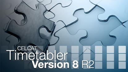 CELCAT Timetabler Version 8 R2