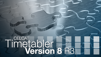 CELCAT Timetabler Version 8 R3