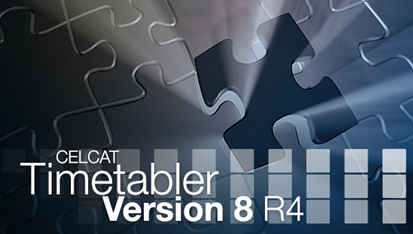 CELCAT Timetabler Version 8 R4