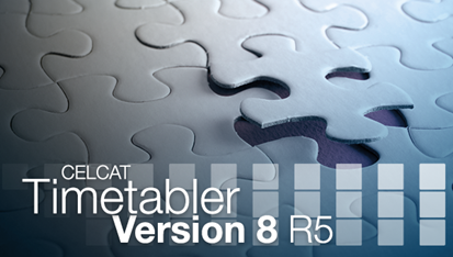CELCAT Timetabler Version 8 R5