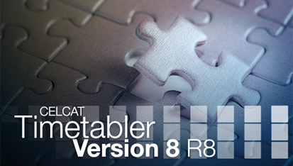 CELCAT Timetabler Version 8 R8