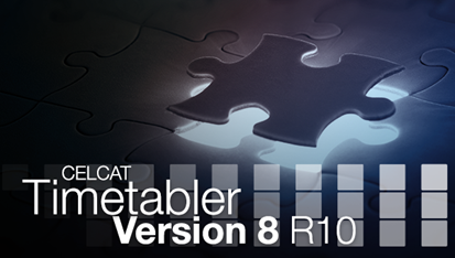 CELCAT Timetabler Version 8 R10