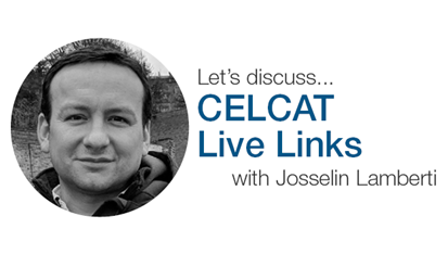 Making use of CELCAT Live Links